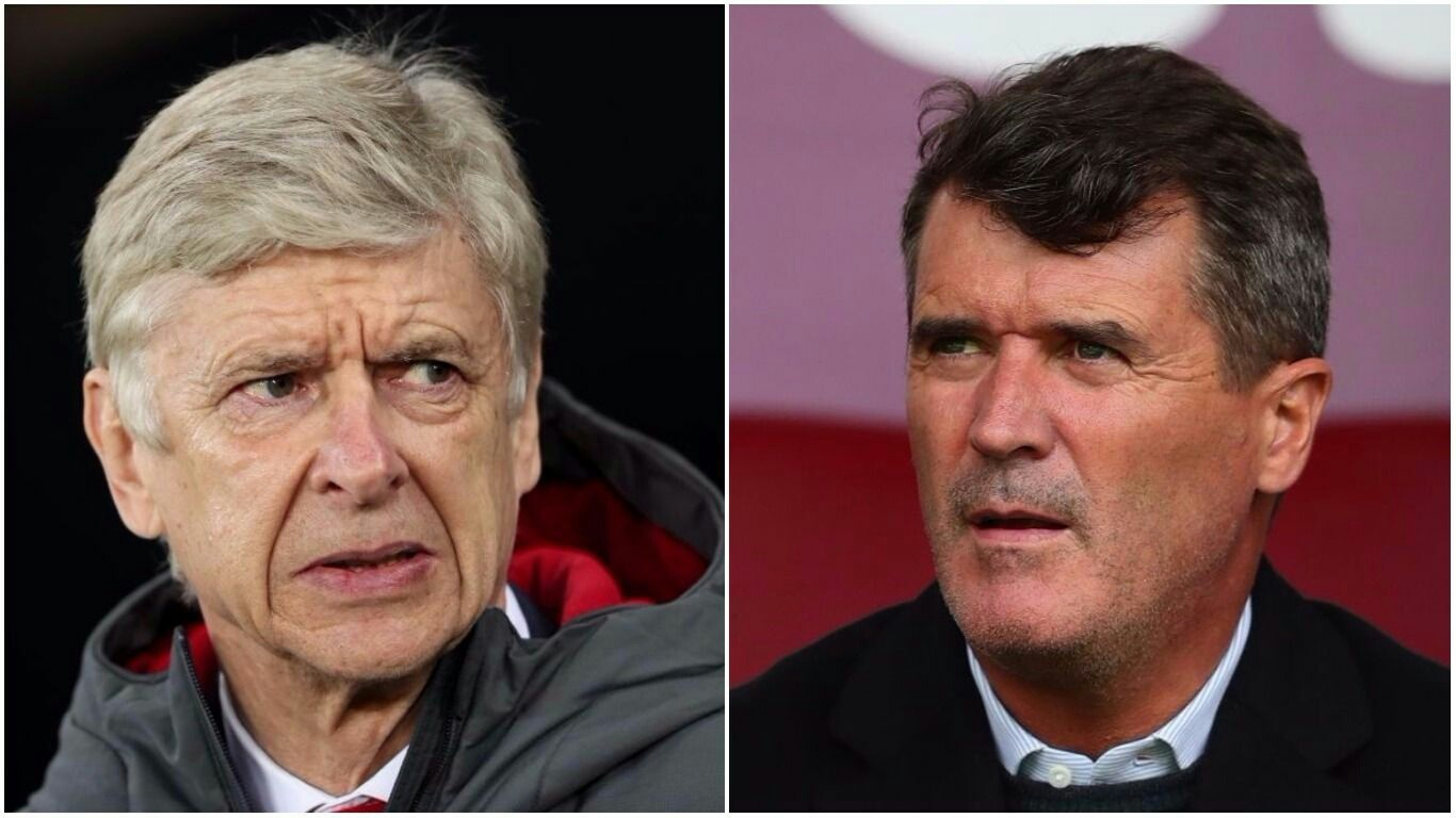 Wenger hits back at Roy Keane's savage criticism
