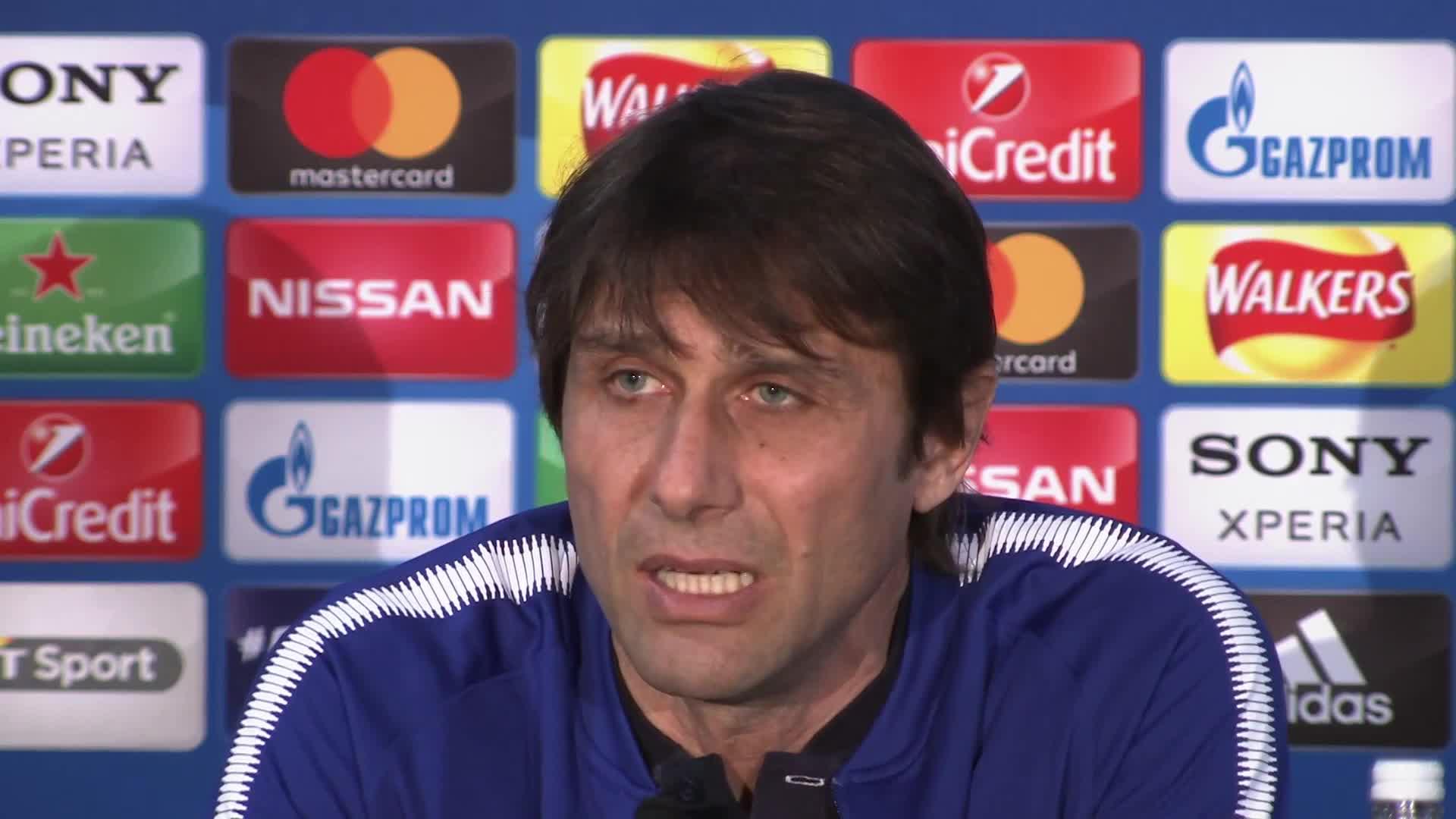 Conte admits Chelsea will suffer against Barcelona
