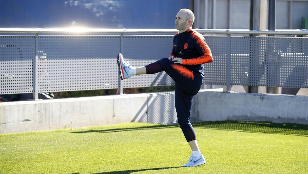 Barca confirm Iniesta might miss Chelsea clash