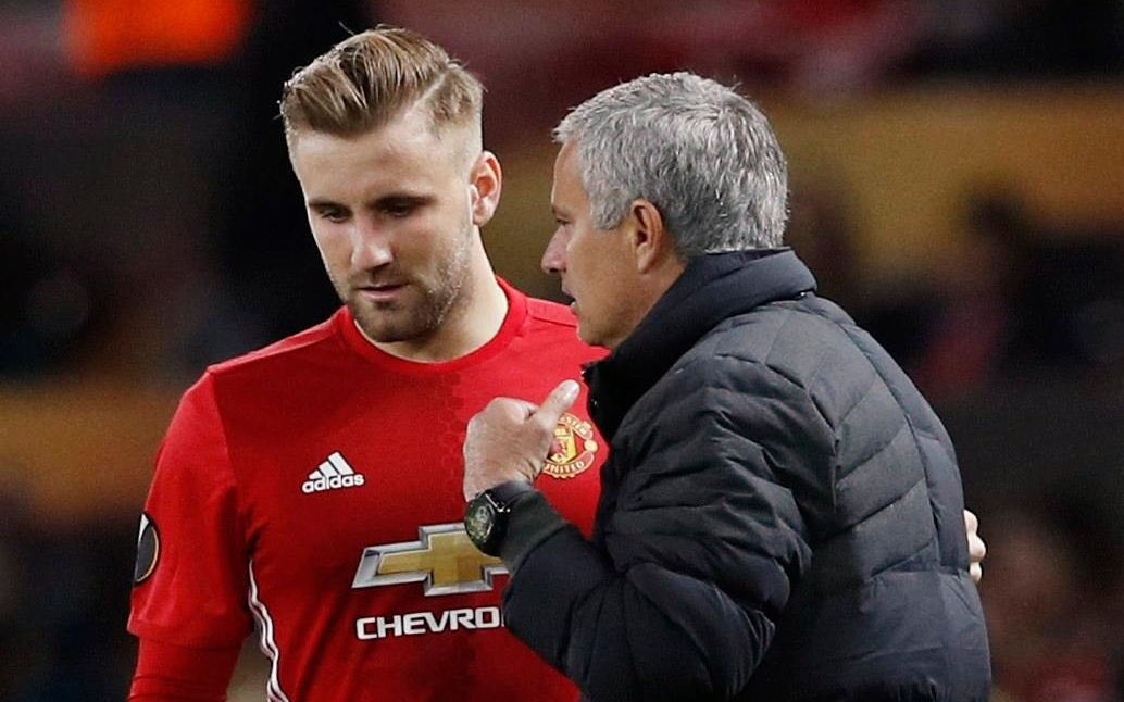 United players shocked by Mourinho's 'bullying' of Luke Shaw