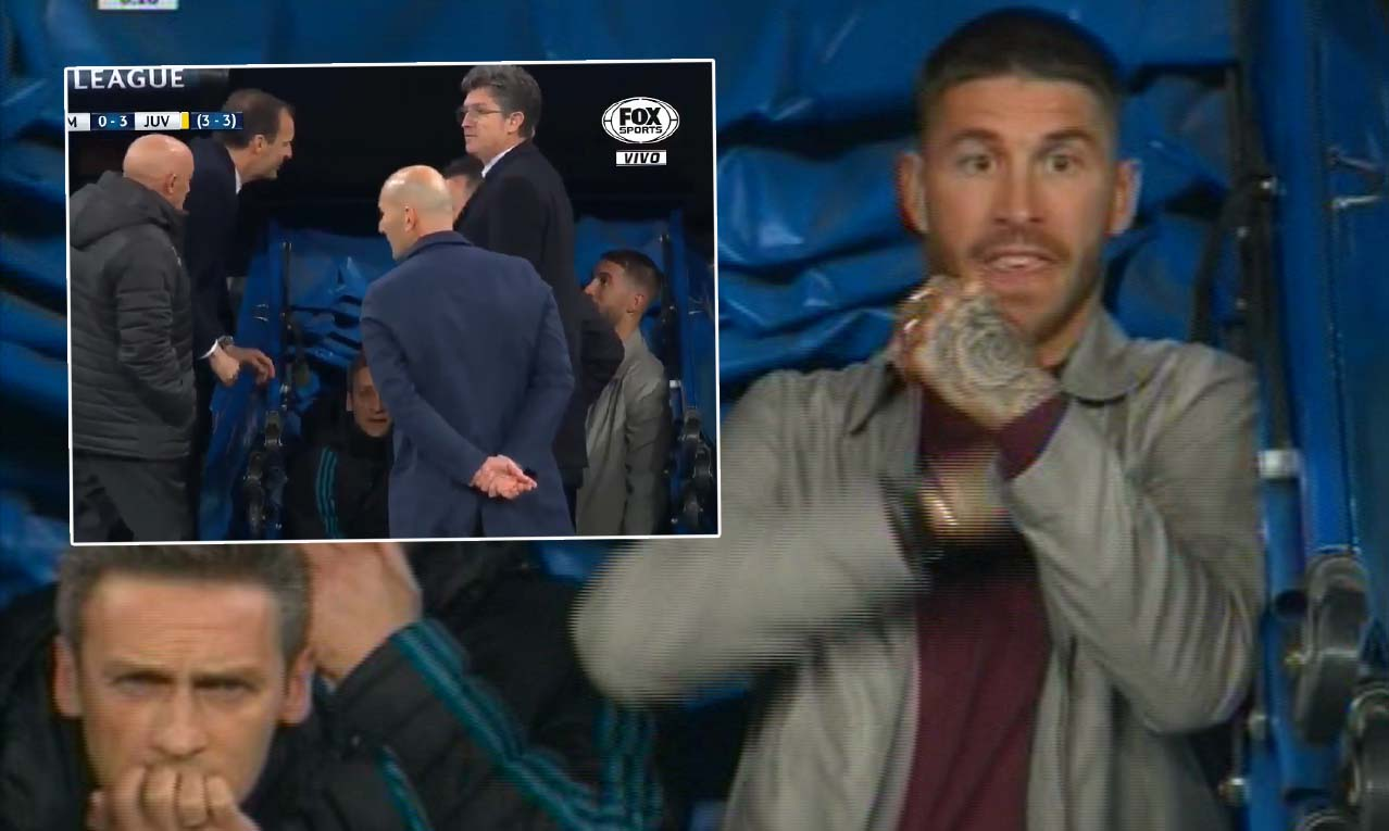Max Allegri reveals what Sergio Ramos said to trigger heated bust-up