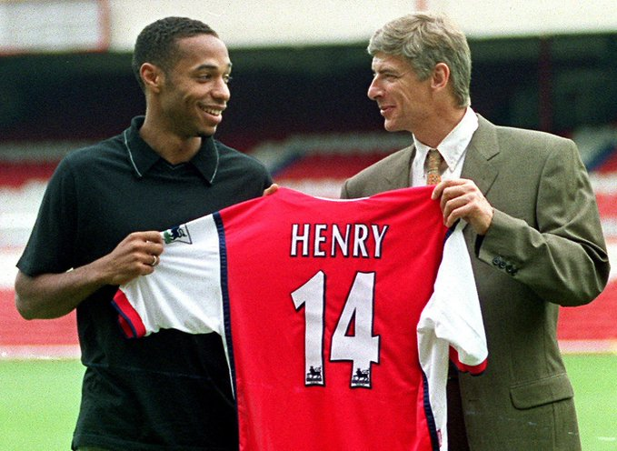 Henry concedes regrets over his relationship with Wenger