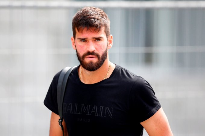 Alisson arrives in England and speaks out on his £67m move to Liverpool
