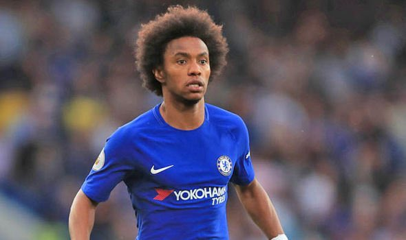 Willian misses training after reported £65m bid from Real Madrid