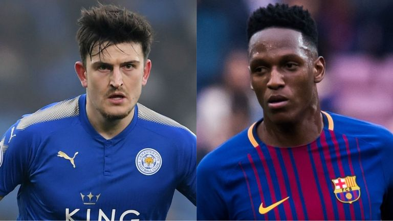 Man United cool Maguire interest, target Barca's Yerry Mina