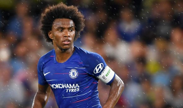 Willian responds to claims he wanted to join United or Barcelona in the summer window