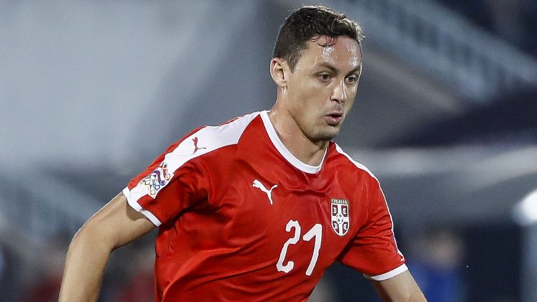 Nemanja Matic pulls out of Serbia team with back injury