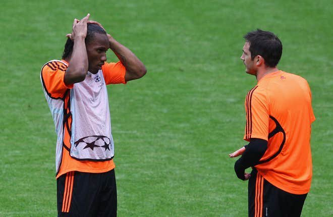 Lampard tells Didier Drogba to join him at Chelsea