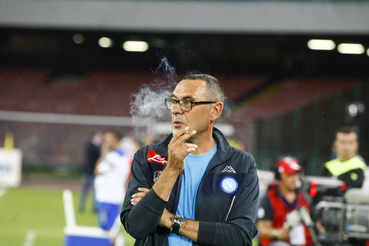 Sarri reveals shocking number of cigarettes he smokes daily