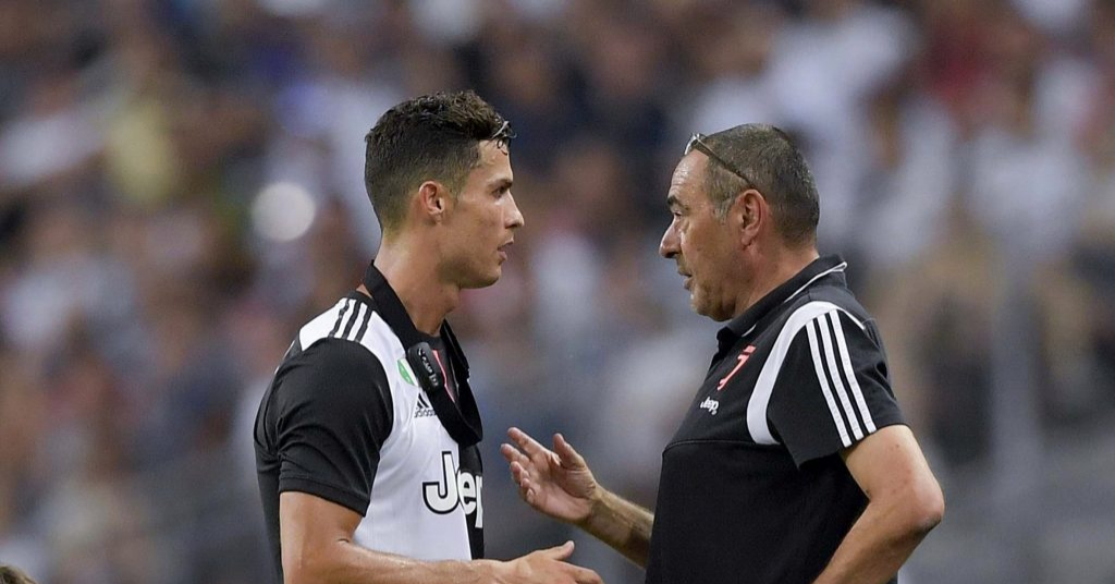 What sparked Ronaldo and Maurizio Sarri 'touchline spat' in 3-2 defeat to Tottenham