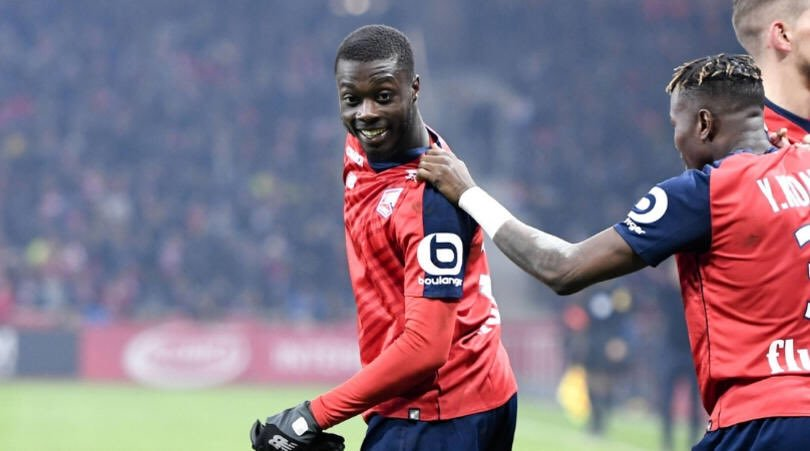 Arsenal now lead Napoli in race to sign Nicolas Pepe with improved offer