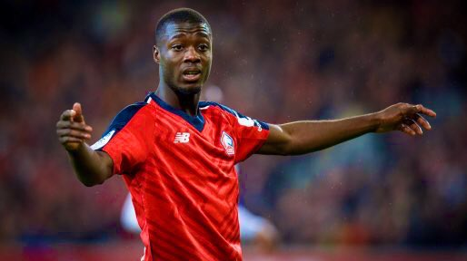 Nicolas Pepe set for Arsenal medical as £72m move nears end