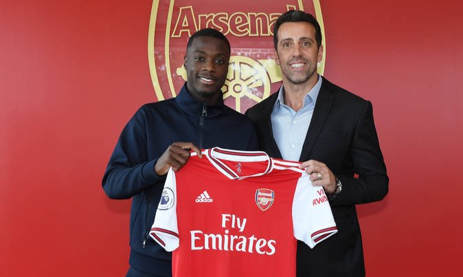 Nicolas Pepe reveals why he snubbed Napoli, Liverpool for Arsenal