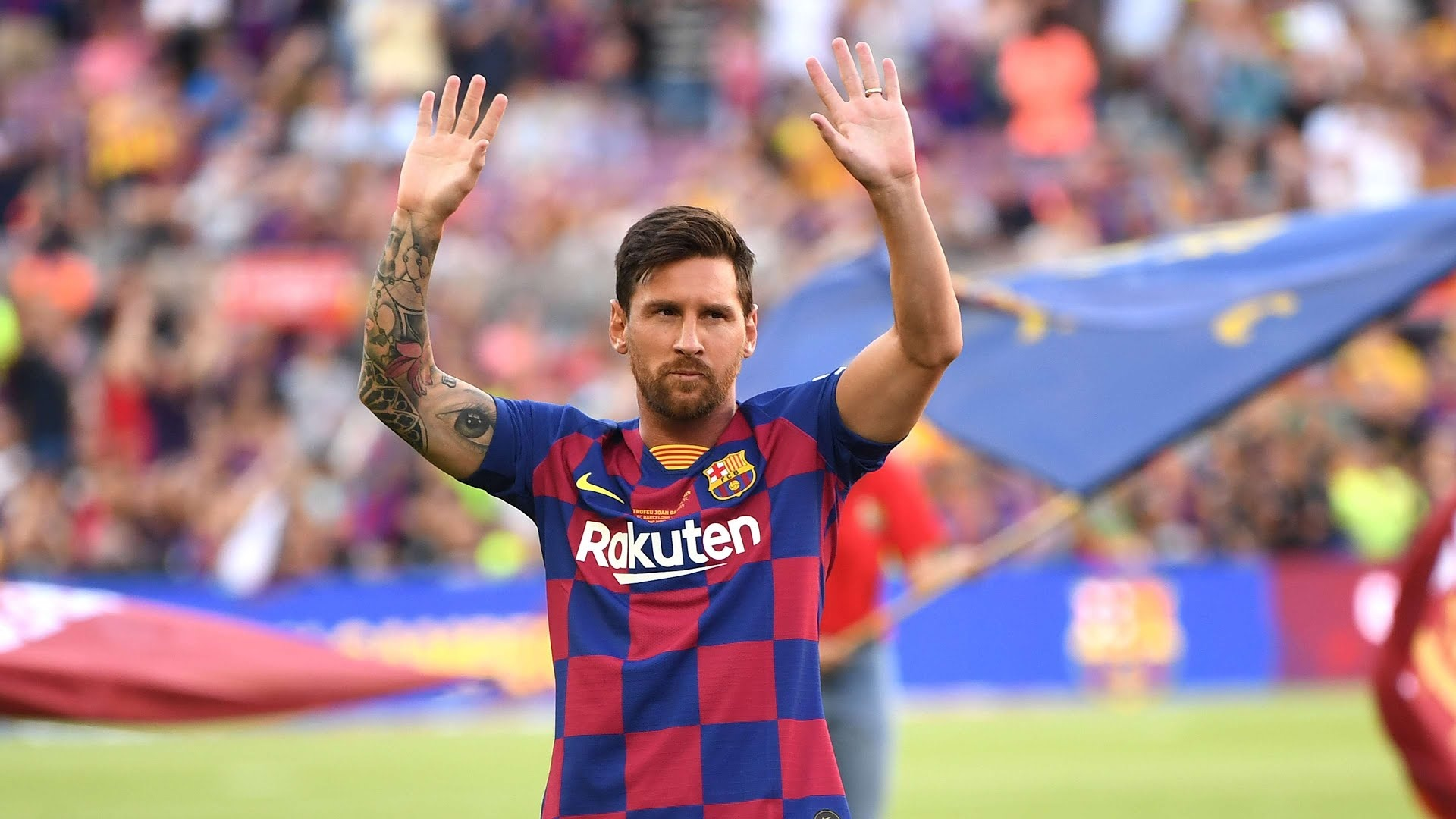 Pique confirms Lionel Messi can leave Barcelona for free at the end of the season