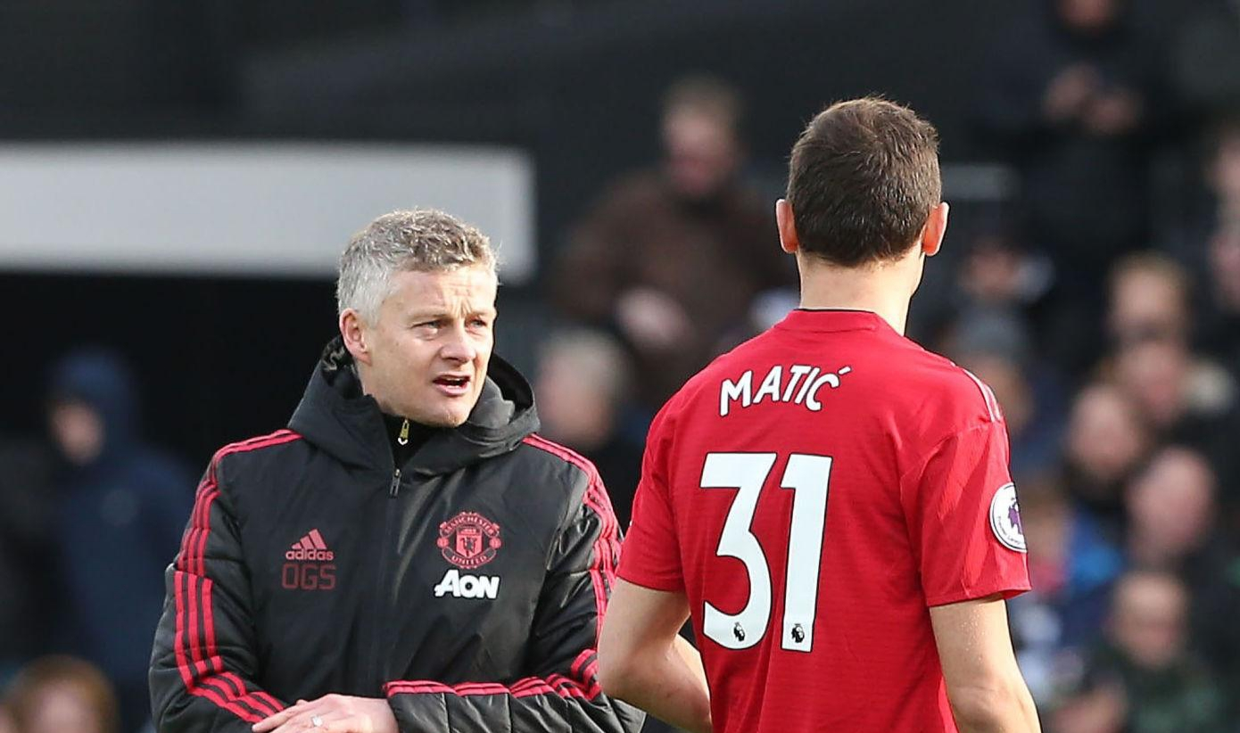 Matic: Solskjaer to blame if United don't compete for Premier League title
