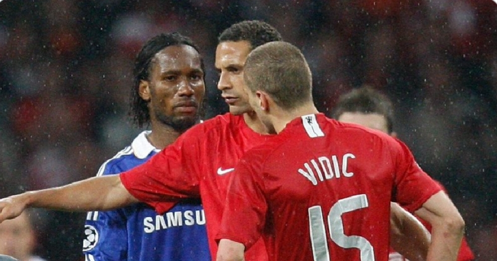 Vidic reveals the time Chelsea legend Didier Drogba wanted to punch him