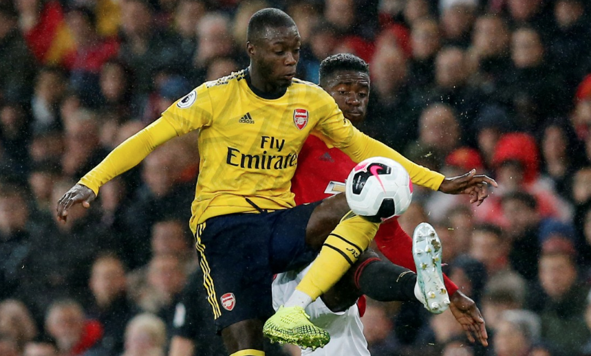 Keane slams Pepe and says Saka looks more like a £72m forward after United draw