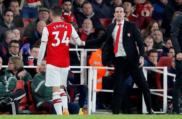 Emery to 'consult Arsenal players' over whether to keep Xhaka as captain