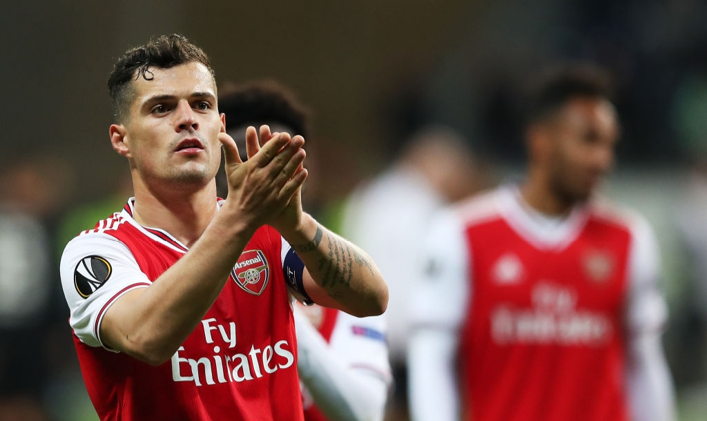 Granit Xhaka's agent confirms he wants Arsenal exit and has agreed Hertha Berlin transfer