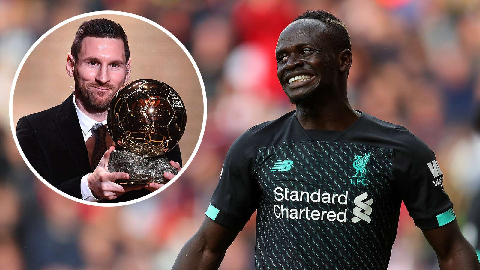 Lionel Messi: It's a shame Mane finished fourth in Ballon d'Or voting