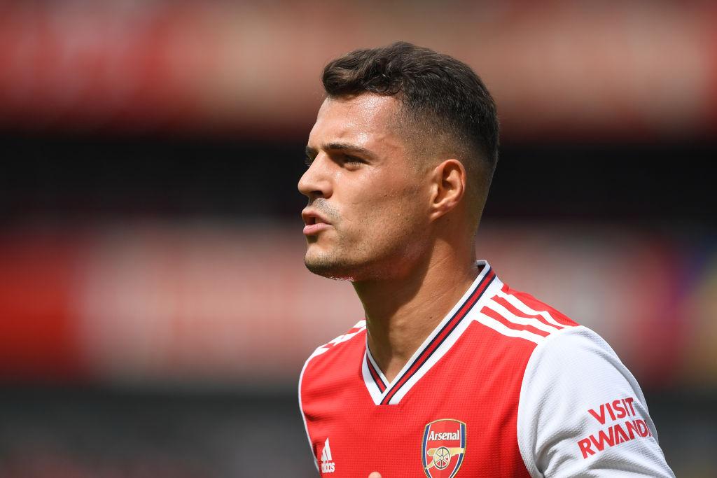 Mikel Arteta reveals Xhaka was on his Man City transfer list