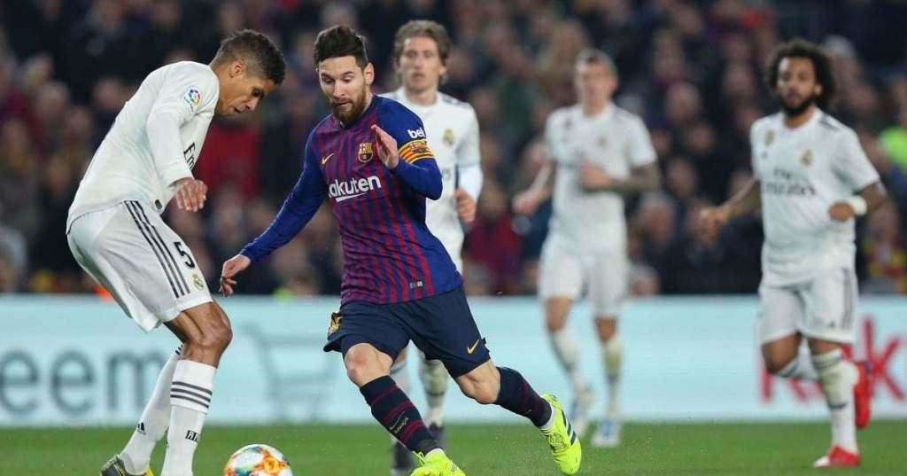 Raphael Varane reveals the secret to keeping Lionel Messi quiet