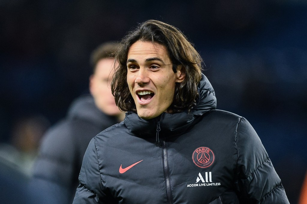 Claude Makelele in talks with PSG to sign Cavani for Chelsea
