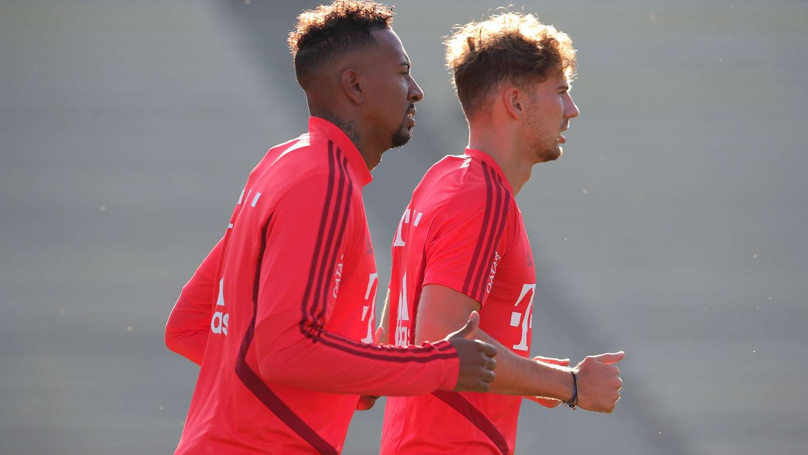 Leon Goretzka & Boateng involved in Bayern Munich training ground fight