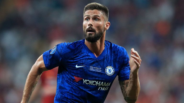 Olivier Giroud agrees terms with Inter Milan