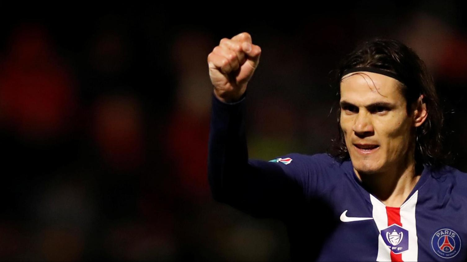 Abraham reveals why he wanted Chelsea to sign Edinson Cavani