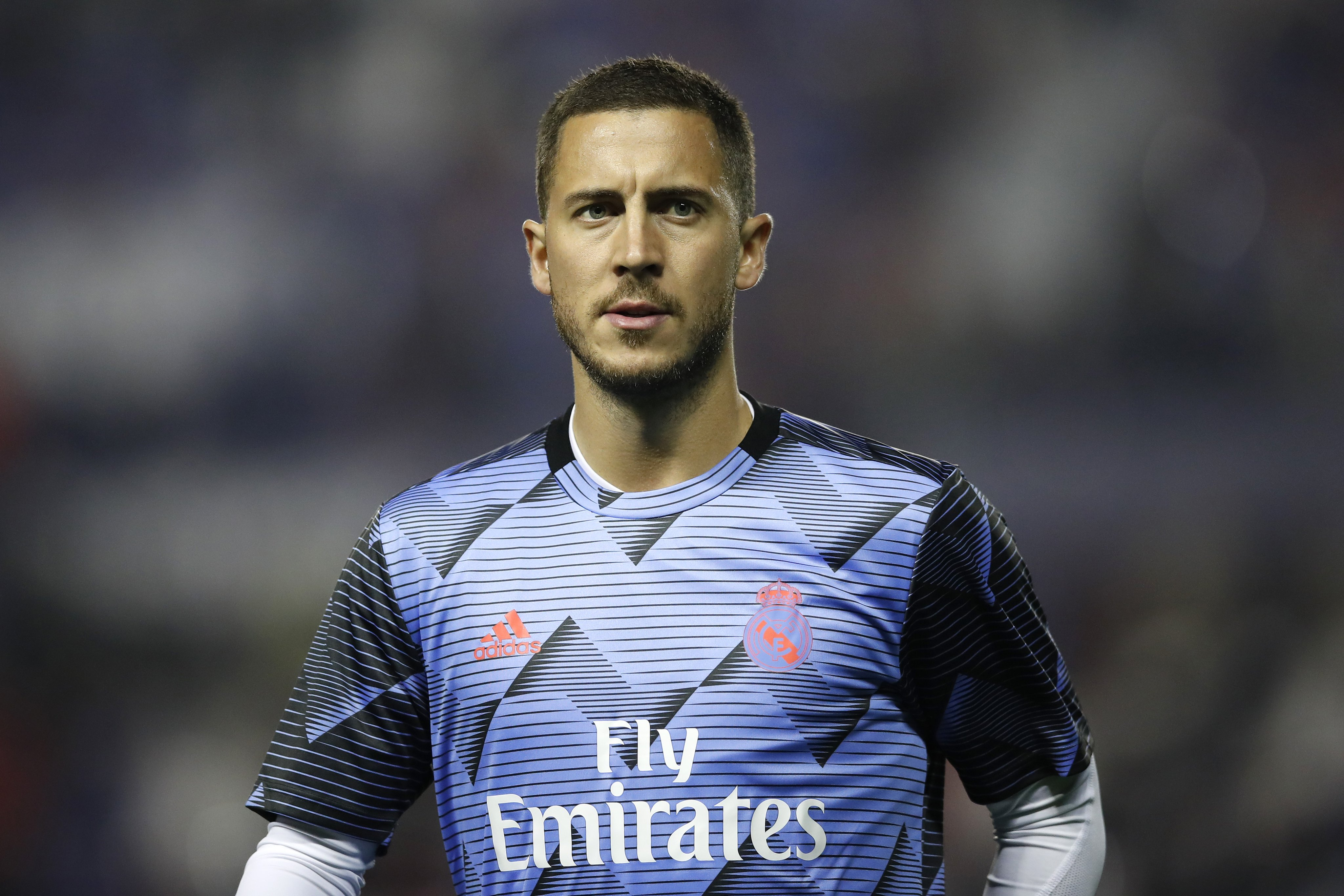 Eden Hazard admits he is a Madrid flop after his first season
