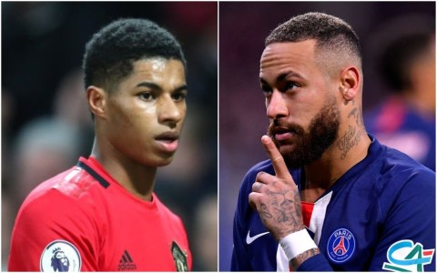 Neymar hits back at Rashford's Man Utd celebration post on Instagram