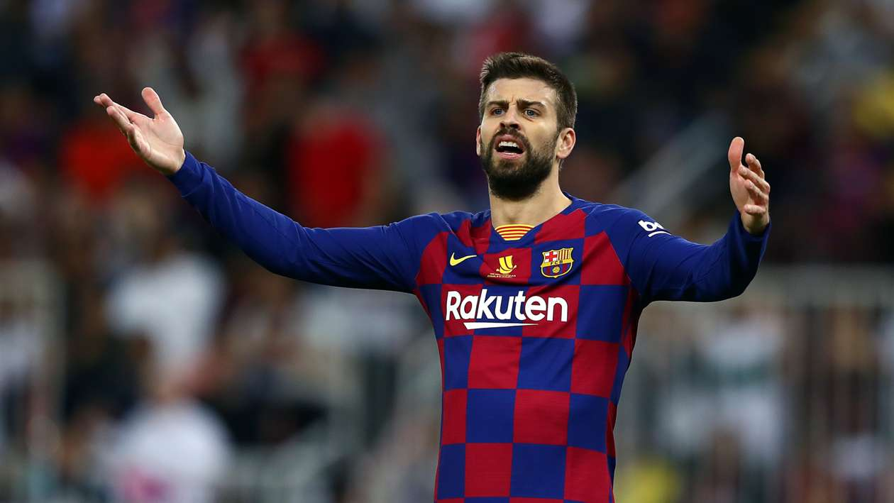 'The worst Real Madrid I have faced' – Pique laments Barcelona's poor display
