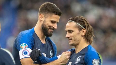 Griezmann defends Giroud after Benzema 'go-kart' comments