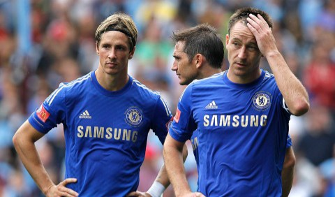 Fernando Torres and John Terry
