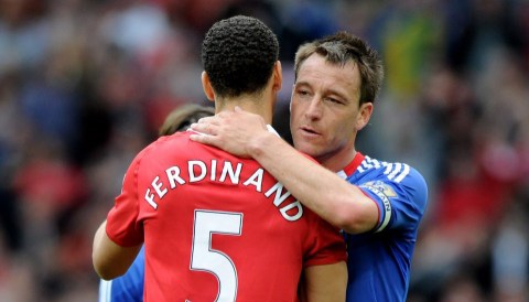 Ferdinand and John Terry