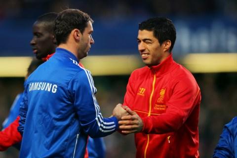 Ivanovic and Luis Suarez