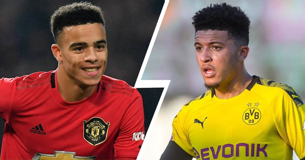 Greenwood and Jadon Sancho