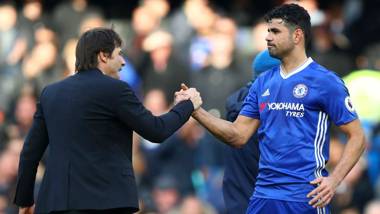 Diego Costa: Conte would never last a season at Real Madrid