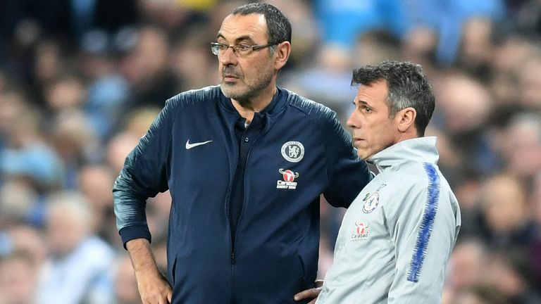 Zola reveals two players that suffered under 'boring' Maurizio Sarri at Chelsea