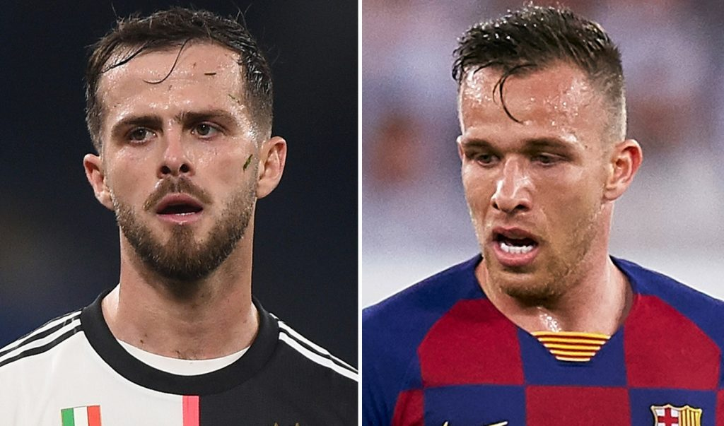 Juventus confirm talks with Barcelona over Arthur and Pjanic