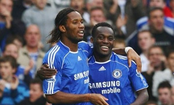 Essien reveals how Drogba convinced him to reject Man Utd