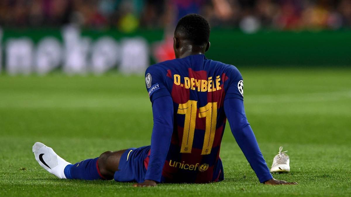 Barcelona drop Ousmane Dembele asking price to just £37m