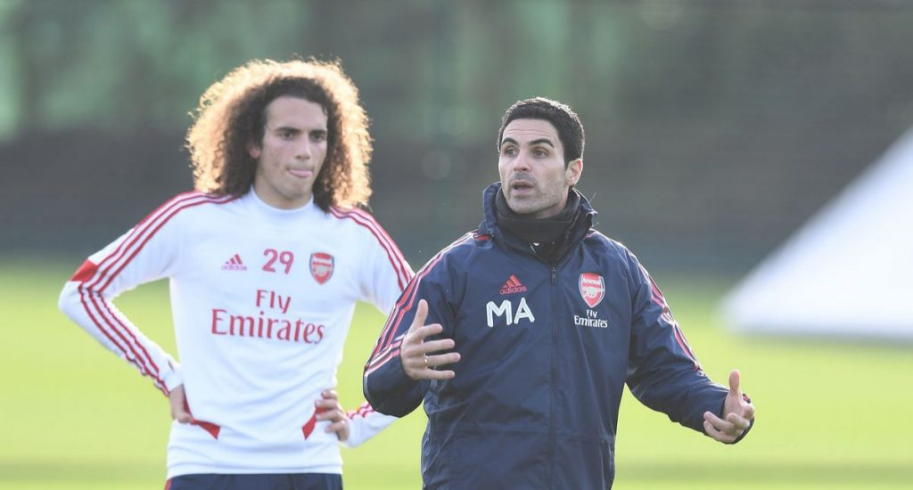 Guendouzi and Arteta