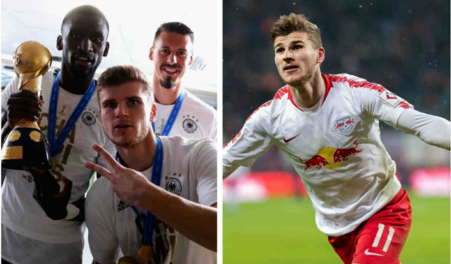 Rudiger contacts Timo Werner to convince him to snub Liverpool and Man Utd