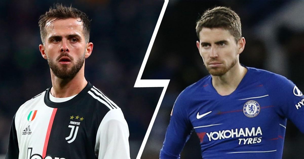 Jorginho and Pjanic