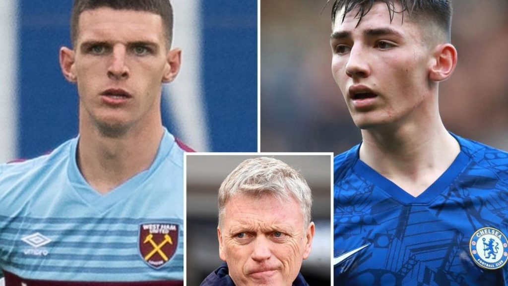 David Moyes demands Billy Gilmour in deal for Declan Rice