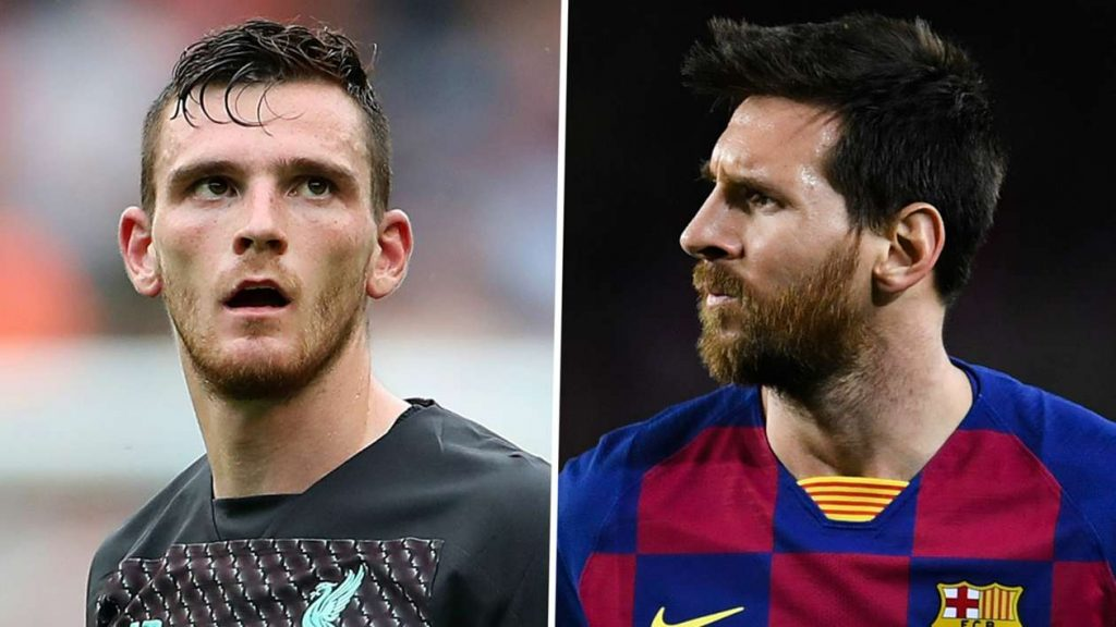 Robertson and Messi