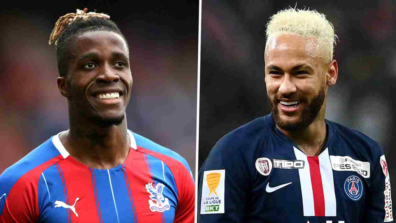 Zaha has 'a Neymar kind of ability', says former team-mate