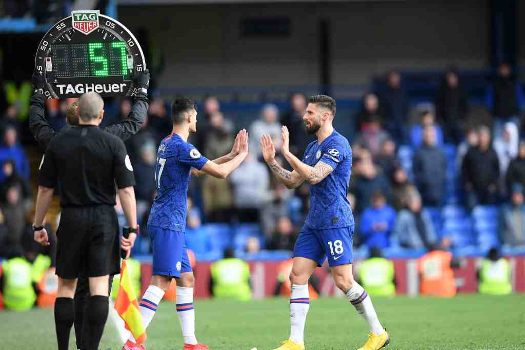 Chelsea propose increasing number of substitutes to nine when the Premier League returns